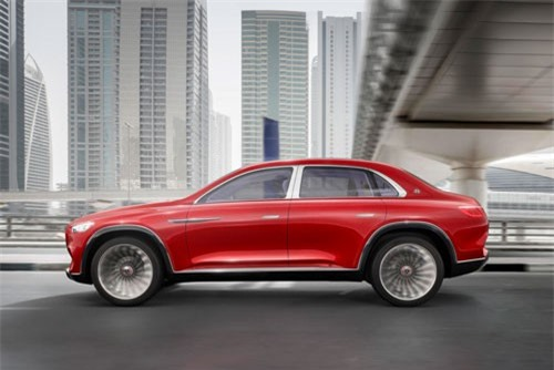 9. Vision Mercedes-Maybach Ultimate Luxury.