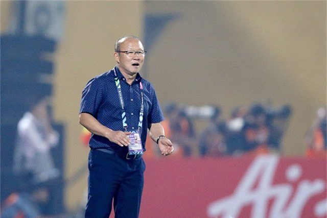 HLV Park Hang Seo đã gây tiếng vang lớn khi làm việc ở Việt Nam