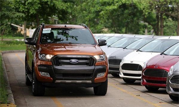 Ford Ranger hiện là mẫu bán tải bán chạy nhất tại Việt Nam