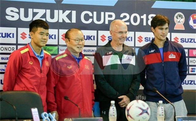 HLV Sven Goran Eriksson: Philippines sẽ chơi tấn công trước ĐT Việt Nam - Ảnh 1.