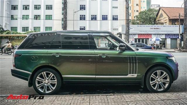 Range Rover Autobiography LWB ngũ sắc của đại gia Sài Gòn - Ảnh 1.