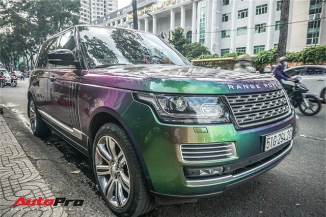 Range Rover Autobiography LWB ngũ sắc của đại gia Sài Gòn - Ảnh 2.