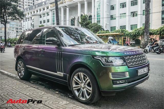 Range Rover Autobiography LWB ngũ sắc của đại gia Sài Gòn - Ảnh 6.
