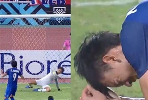 Kraisorn bị chế nhạo vì đá hỏng penalty khiến Thái Lan bị loại