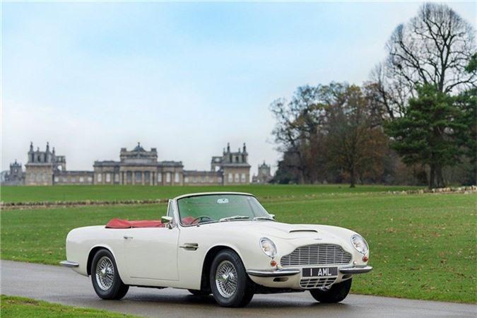 Aston Martin lắp động cơ điện cho xe cổ mui trần DB6 MkII ảnh 1