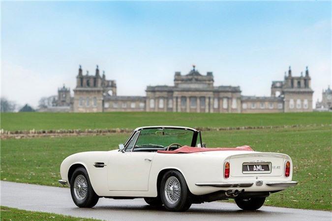 Aston Martin lắp động cơ điện cho xe cổ mui trần DB6 MkII ảnh 4
