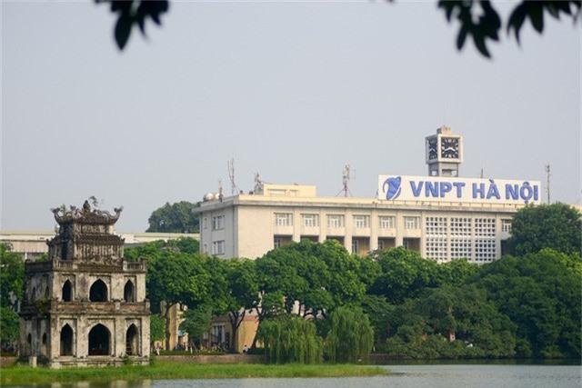 Tòa nhà Bưu điện Hà Nội bị đổi tên thành VNPT Hà Nội