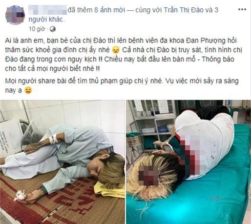 Câu chuyện gia đình hot girl Đào Chile bị truy sát đã nhanh chóng thu hút sự chú ý từ cộng đồng mạng (Ảnh chụp màn hình).