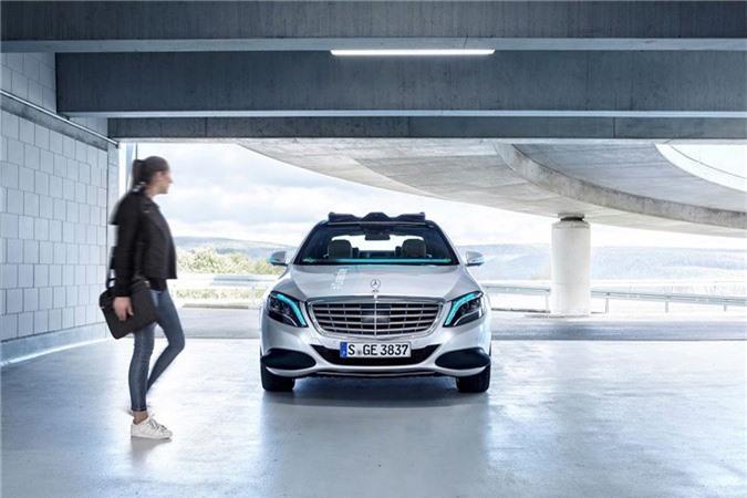 Mercedes-Benz phát triển đèn thông minh dành riêng cho xe tự lái ảnh 2