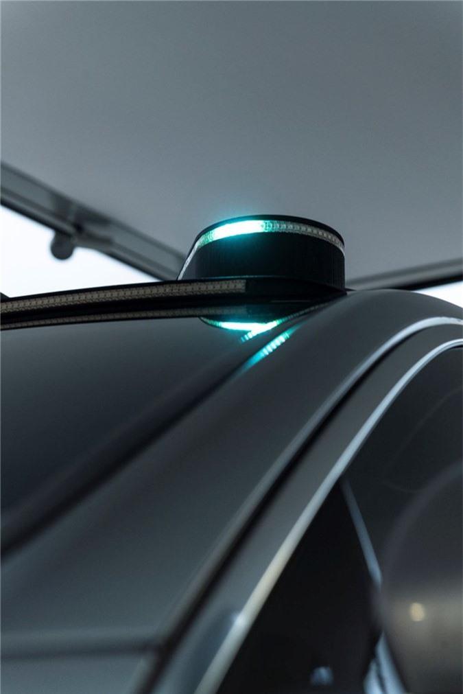 Mercedes-Benz phát triển đèn thông minh dành riêng cho xe tự lái ảnh 4