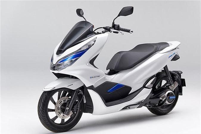 Xe ga dien Honda PCX gia 144,5 trieu dong tai Nhat Ban