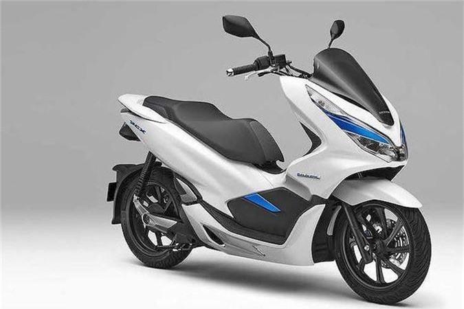 Xe ga dien Honda PCX gia 144,5 trieu dong tai Nhat Ban-Hinh-2