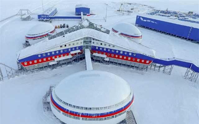 Cơ sở của Nga ở Bắc Cực