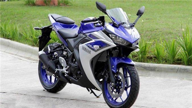 Yamaha R25 là một trong những mẫu xe bị triệu hồi lần này tại Việt Nam