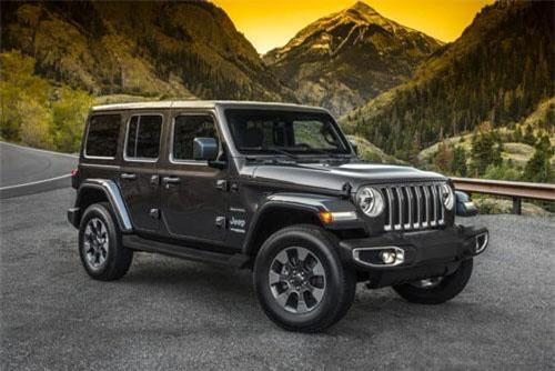 10. Jeep Wrangler (doanh số: 15.963 chiếc).