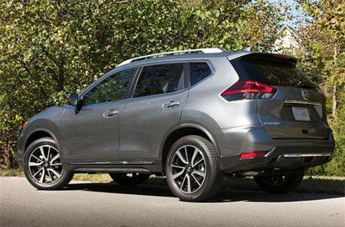 2. Nissan Rogue (doanh số: 31.860 chiếc).
