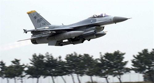 Mỹ chặn các máy bay chiến đấu F-16 của Israel cho Croatia