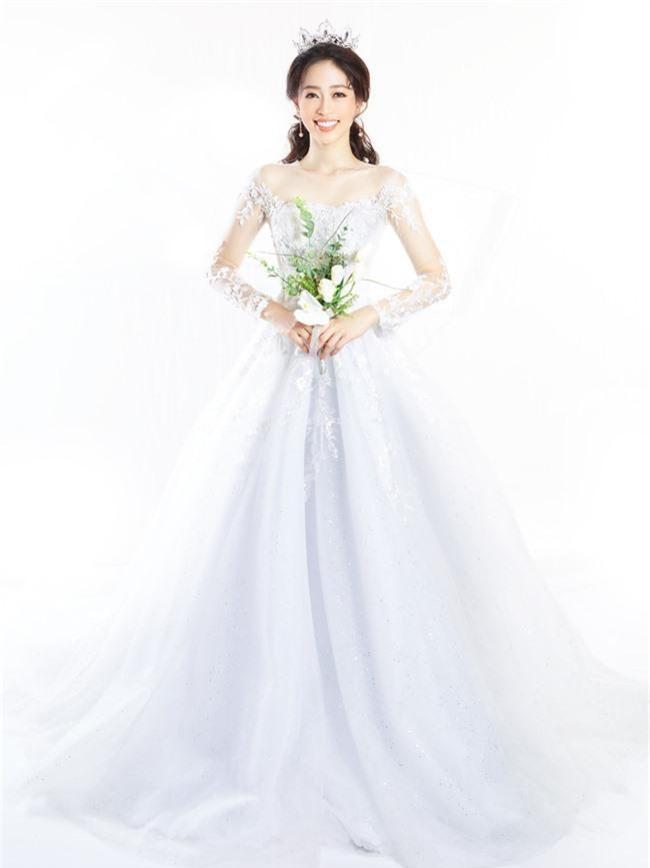 Bị chê người mỏng, Á hậu Phương Nga bất ngờ tung ảnh mặc váy cưới khoe vòng một đầy đặn khó ngờ - Ảnh 11.