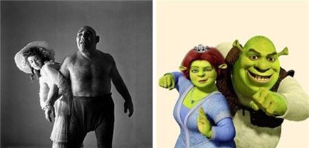 """Nguyên bản của gã chằn tinh Shrek trong bộ phim hoạt hình nổi tiếng là người đàn ông có tên Maurice Tillet. Bất chấp ngoại hình khác lạ, Maurice Tillet vẫn có biệt danh là """"thiên thần"""" vì tính cách dễ mến và thông thuộc tới 16 ngoại ngữ."""