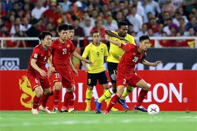 Đội tuyển Việt Nam và Malaysia sẽ tái ngộ ở trận chung kết AFF Cup 2018