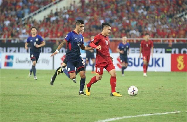 Đội tuyển Việt Nam có trận đấu xuất sắc về mặt chiến thuật (ảnh: Huyền Trang)