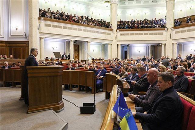 Theo đề xuất của Tổng thống Petro Poroshenko, Ukraine sẽ chấm dứt Hiệp ước hữu nghị với Nga từ tháng 4/2019. (Ảnh minh họa: TASS)