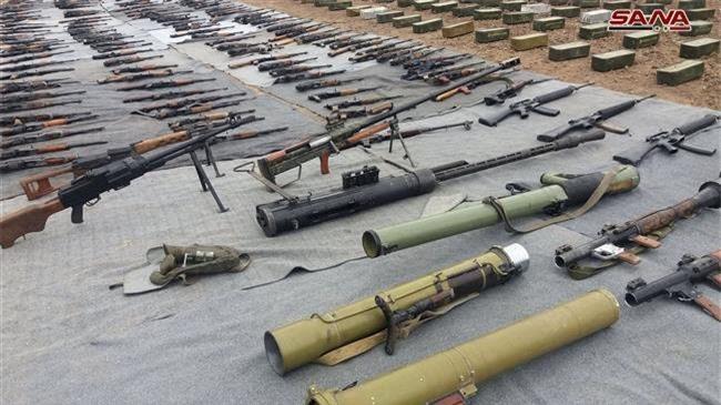 Quân đội Syria phát hiện loạt vũ khí Israel do phiến quân bỏ lại