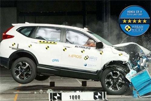 Honda CR-V nhận hai giải thưởng của ASEAN NCAP về an toàn. Honda CR-V nhận 2 giải thưởng: SUV tốt nhất trong hạng mục bảo vệ an toàn cho hành khách là trẻ nhỏ (COP) và đánh giá 5 sao của ASEAN NCAP. (CHI TIẾT)
