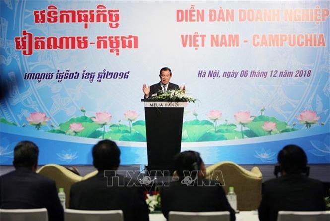 Thủ tướng Hun Sen phát biểu tại diễn đàn
