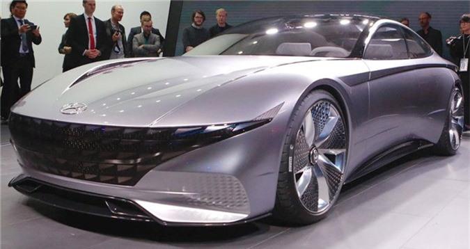 Cận cảnh vẻ đẹp khó cưỡng của Hyundai Le Fil Rouge. Hyundai đã vén màn chiếc concept Le Fil Rouge đặc biệt, đây là một nghiên cứu về ngôn ngữ thiết kế mới từ thương hiệu xe Hàn Quốc. (CHI TIẾT)