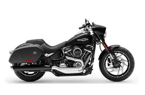 7. Harley-Davidson Softail Sport Glide 2019 (giá khởi điểm: 18.649 USD).