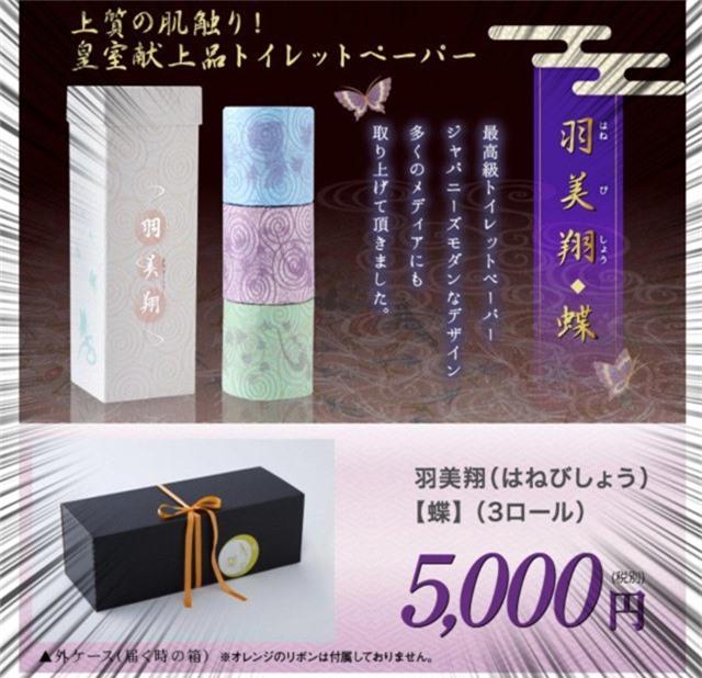 Giấy vệ sinh sang chảnh 1 triệu đồng 3 cuộn, in cả thơ của Nhật Bản có gì đặc biệt? - Ảnh 1.