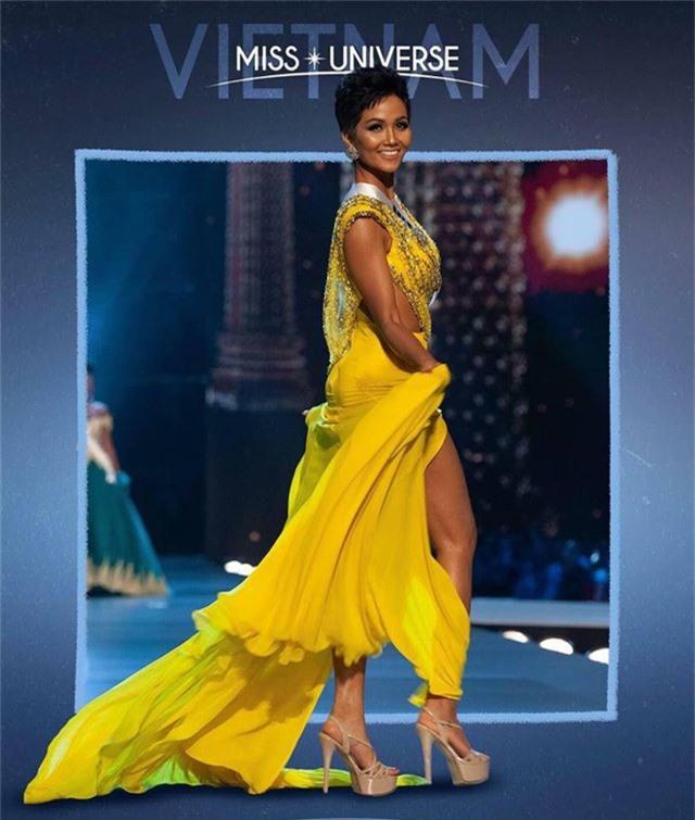 Tuy dừng chân ở top 5 nhưng H'hen Niê là đại diện đầu tiên của Việt Nam lọt top cao nhất của cuộc thi Hoa hậu hoàn vũ thế giới.