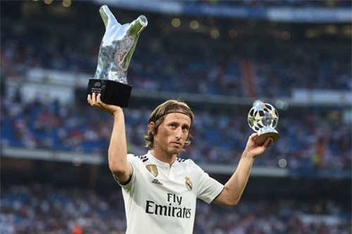 1. Luka Modric (Real Madrid/ĐT Croatia).