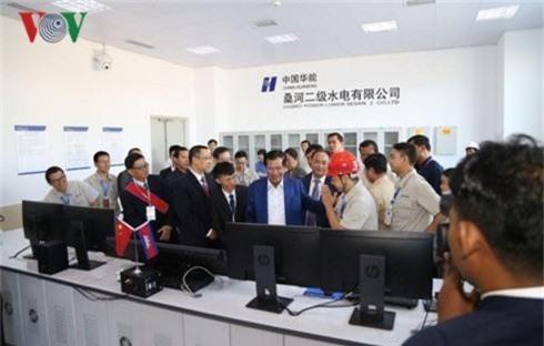 Khánh thành nhà máy thủy điện lớn nhất Campuchia - Ảnh 1.