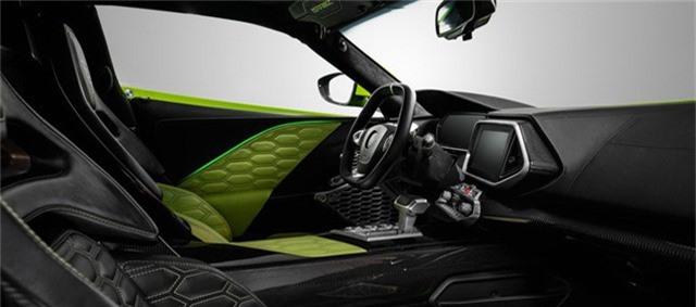 Nội thất Zenvo TS1 GT