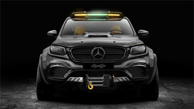 Mercedes-Benz X-Class độ 6 bánh - Khi nhà giàu chơi tất tay - Ảnh 2.