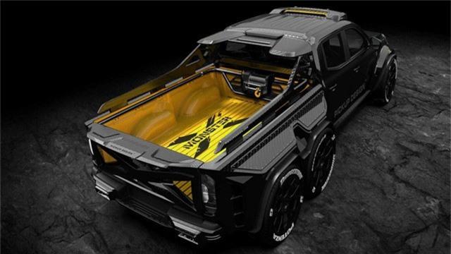 Mercedes-Benz X-Class độ 6 bánh - Khi nhà giàu chơi tất tay - Ảnh 3.