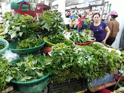 Nguồn cung khan hiếm khiến giá rau xanh tăng mạnh.