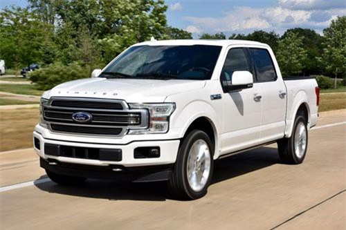1. Ford F-series (doanh số: 821,558 xe chiếc).