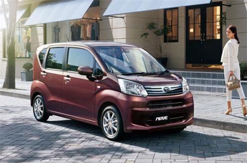 3. Daihatsu Move (doanh số: 11.442 chiếc).