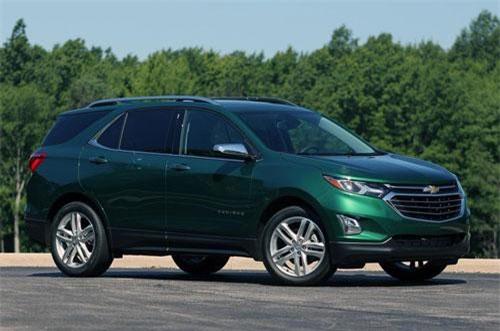 9. Chevrolet Equinox (doanh số: 295.321 chiếc).