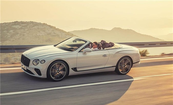 Bentley Continental GT Convertible.