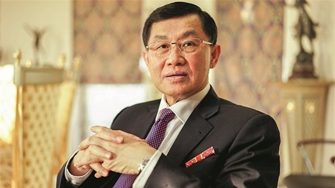Ông Johnathan Hạnh Nguyễn (bố chồng Tăng Thanh Hà) hiện là chủ tịch tập đoàn Liên Thái Bình Dương (Imex Pan Pacific- IPP).