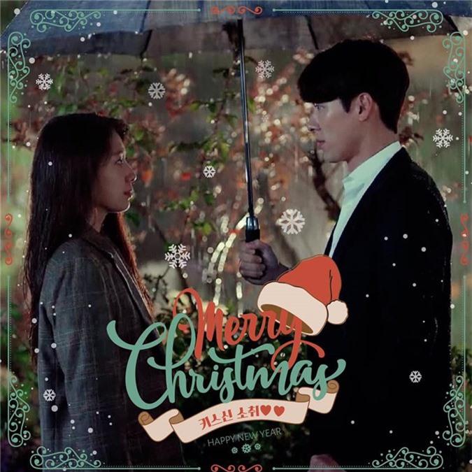 Park Shin Hye và Hyun Bin tình tứ đêm Giáng sinh-1