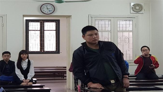 Bị cáo Nguyễn Sỹ Thắng tại phiên tòa phúc thẩm.