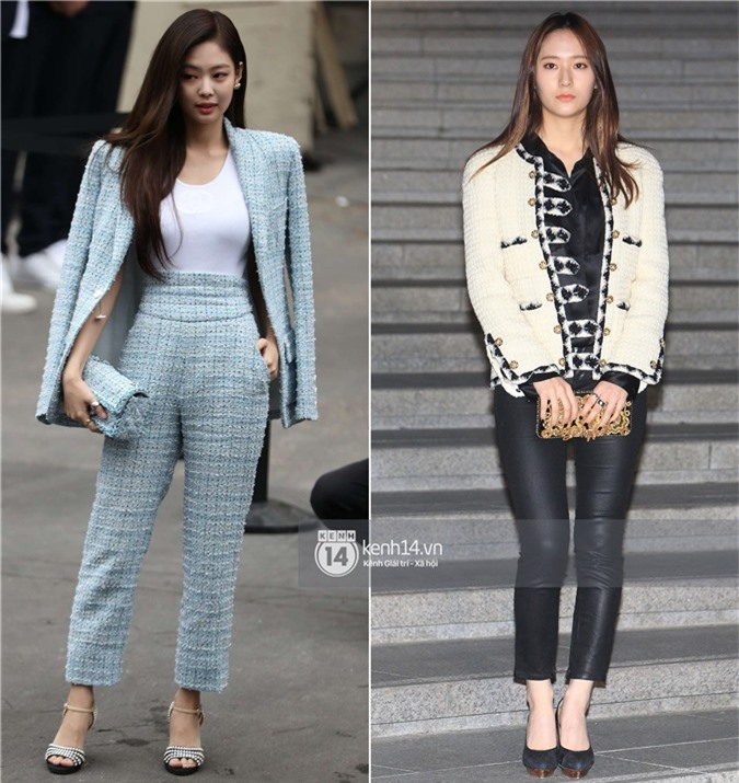 Jennie và Krystal chung sự kiện: Đều sang chảnh ngút ngàn nhưng vẫn cách biệt quá nhiều? - Ảnh 8.