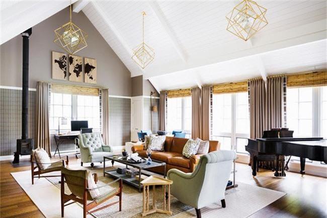 Den tha tran  xu huong noi that phong khach 2019 de ban lua chon cho gia dinh 23 - Đèn thả trần - xu hướng nội thất phòng khách 2019 để bạn lựa chọn cho gia đình