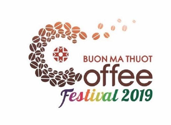 Biểu trưng của Lễ hội cà phê Buôn Ma Thuột lần thứ 7 năm 2019