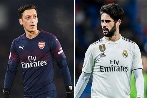 CĐV Arsenal muốn bán Ozil, mua Isco.